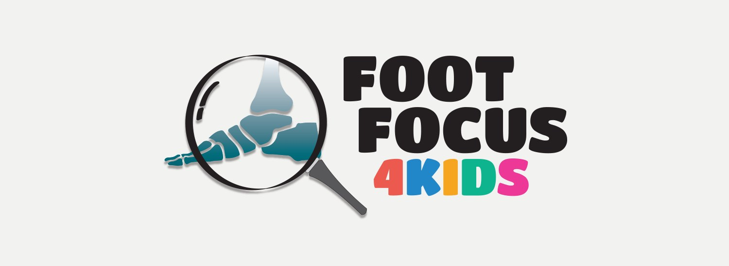 Foot Focus 4KIDS Logo - design by Theysaurus