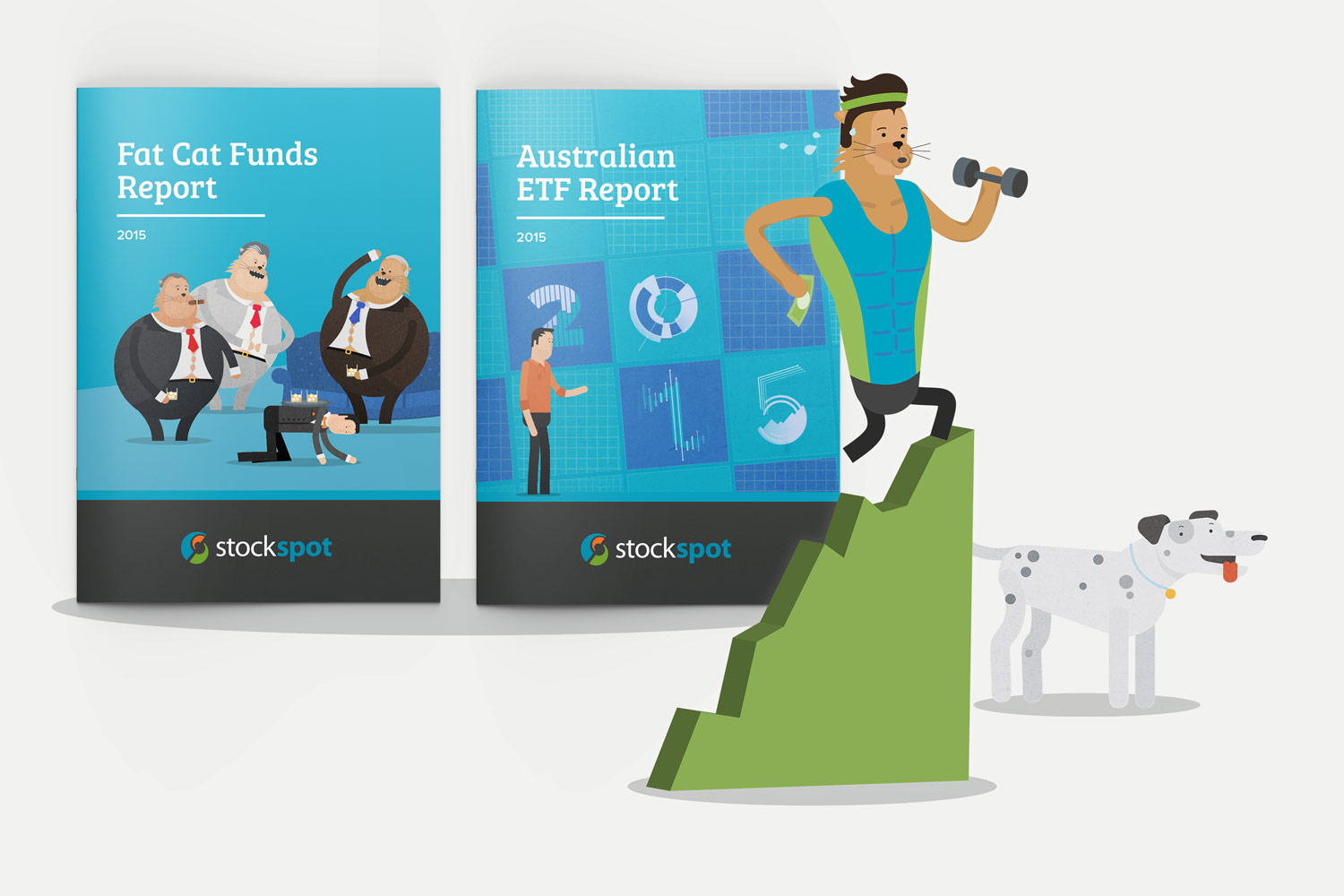 Report Design and Illustration for a financial services company by Theysaurus