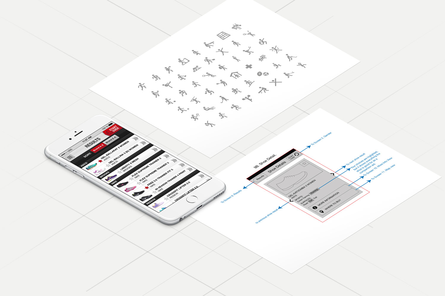 Ultimate Shoe Selector - Digital Product Design by Theysaurus